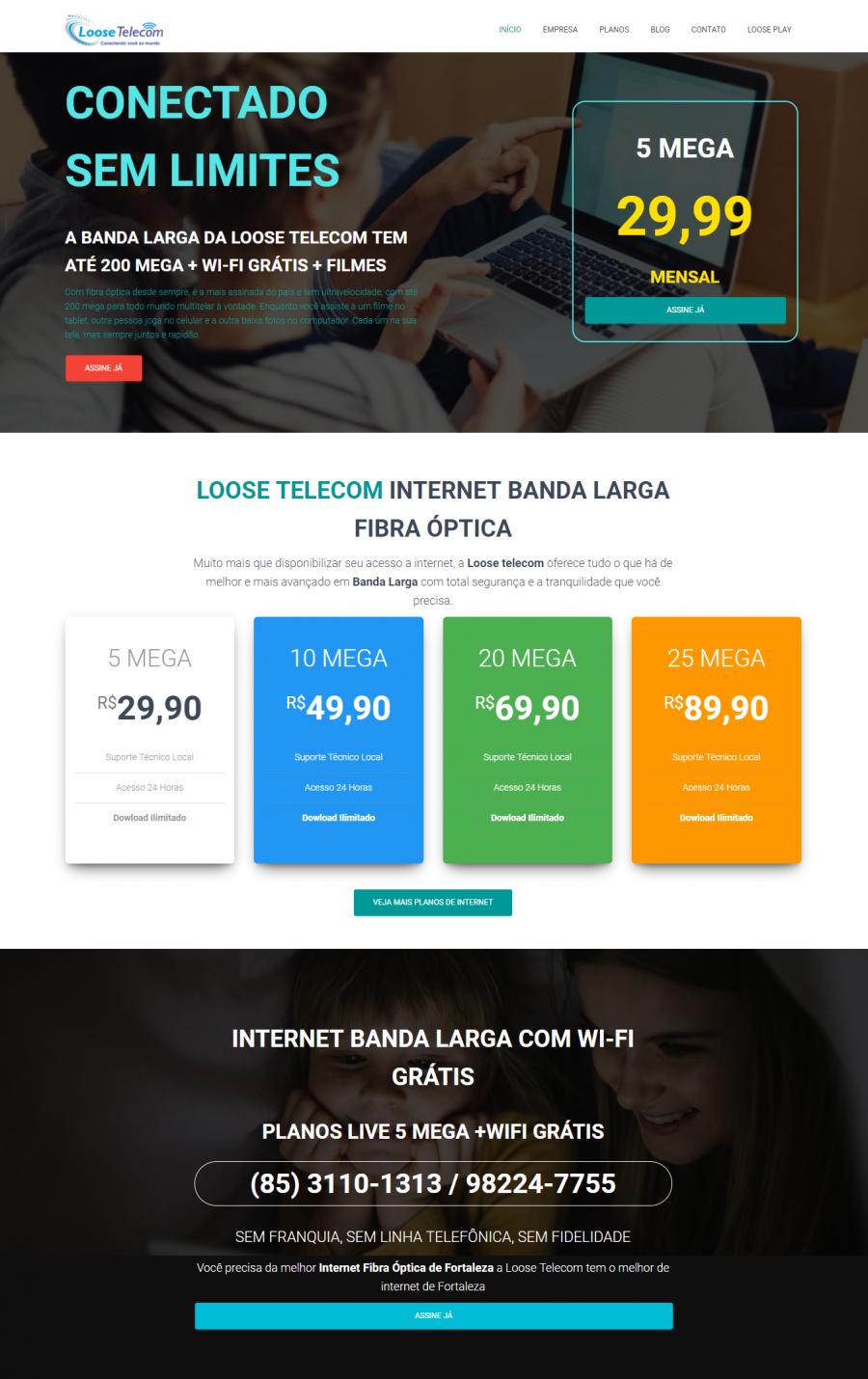 home Loose Telecom